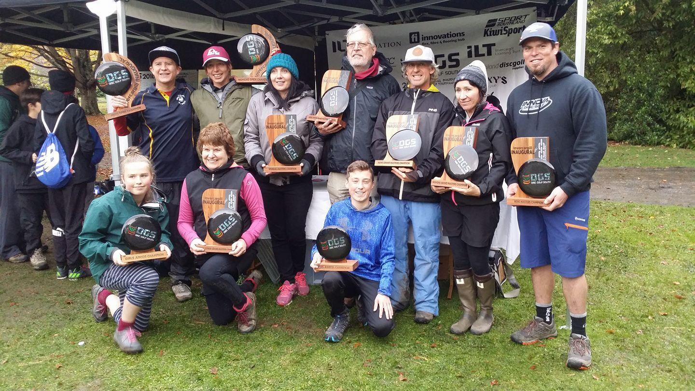 Disc Golf winners 2