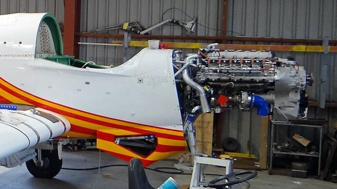 V8 diesel Fletcher