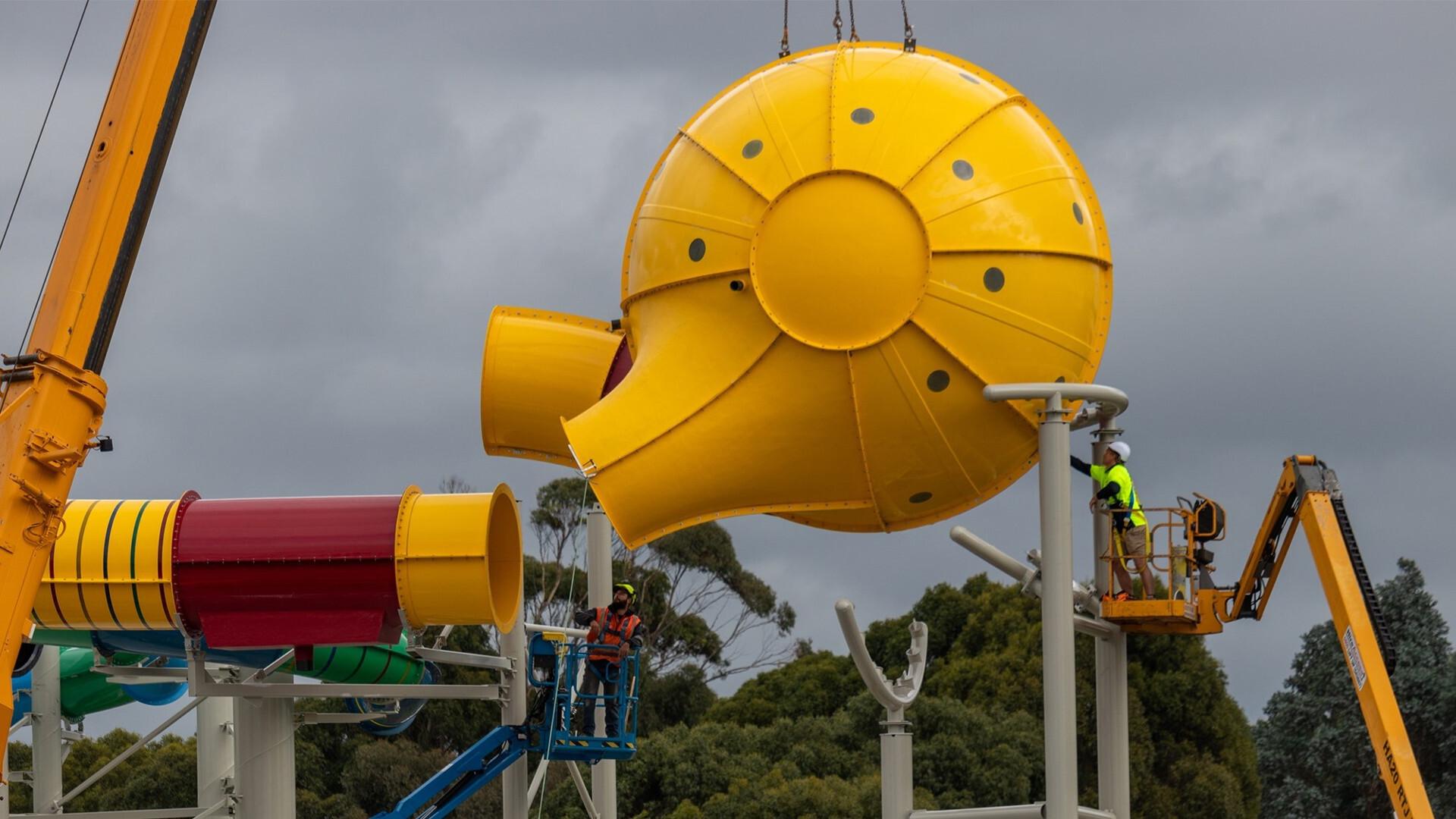 Install hydroslide ball 16 9
