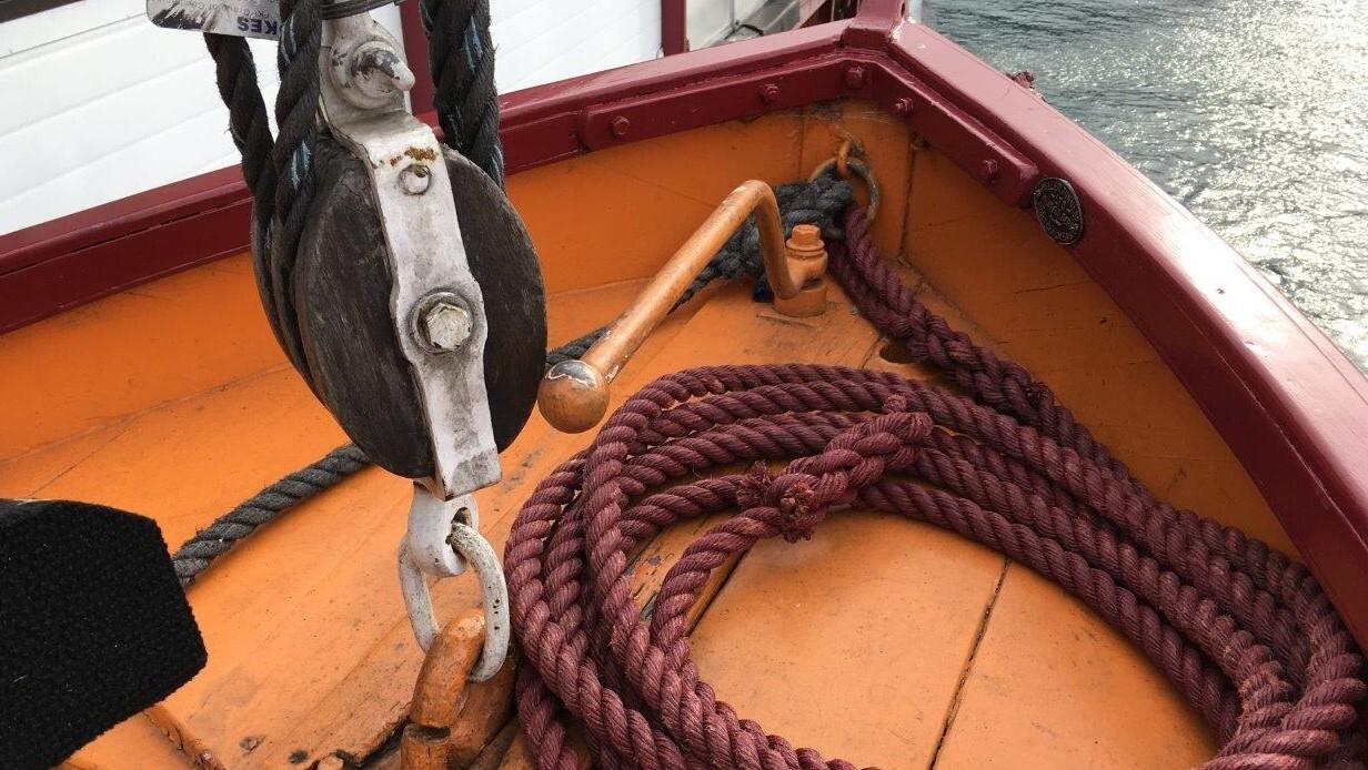 Lifeboat deck 0970